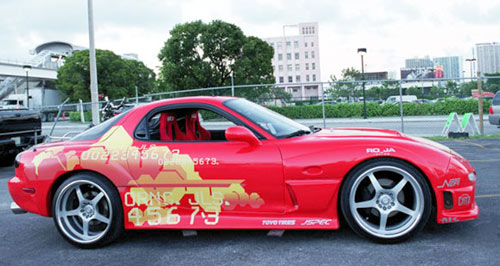 mazda rx7 fast and furious. 1994 mazda rx7 rx7 fast and furious
