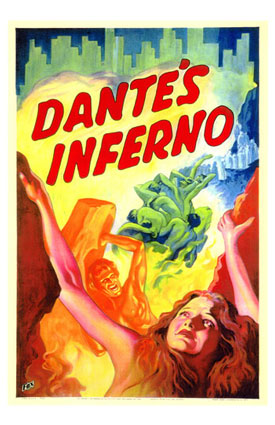 movie poster for Dante's Inferno