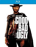 Poster for movie 'The good, the bad and the ugly' via the Rotten Tomatoes movie website.