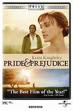 Pride and Prejudice DVD: Anamorphic Widescreen