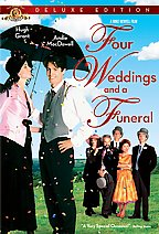 Four Weddings and a Funeral DVD: Deluxe Edition Widescreen