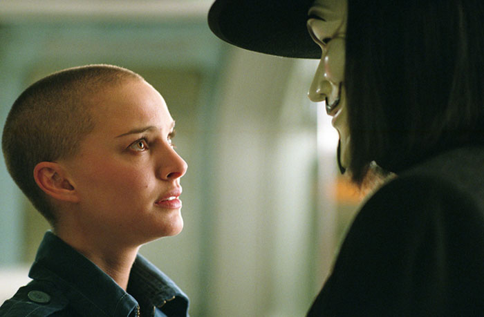 V For Vendetta Movie Stills: Natalie Portman, Hugo Weaving, Stephen Rea, James McTeigue