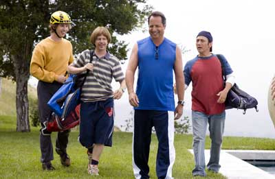 The Benchwarmers Movie Stills: Rob Schneider, David Spade, Jon Heder, Dennis Dugan