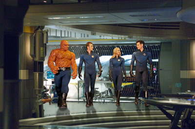 Screen image from Fantastic Four: Rise of the Silver Surfer