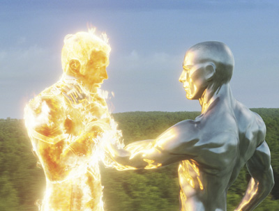 Image from Fantastic Four: Rise of the Silver Surfer film