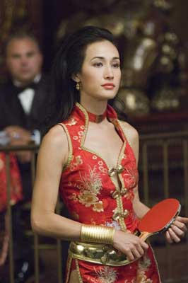 Maggie Q as Maggie Wong in Balls of Fury