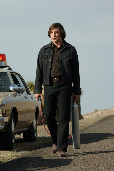 Anton Chigurh from No country for old men