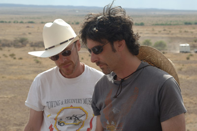 On the set of No Country for Old Men