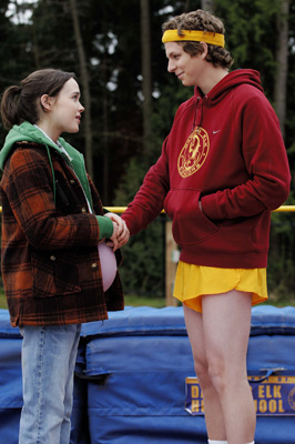 Juno Movie Stills: Ellen Page, Michael Cera, Jennifer Garner, Jason Reitman