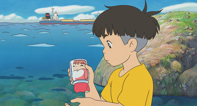 Gake no ue no Ponyo / Ponyo on the Cliff by the Sea (Hayao Miyazaki 2008) | iGalerie