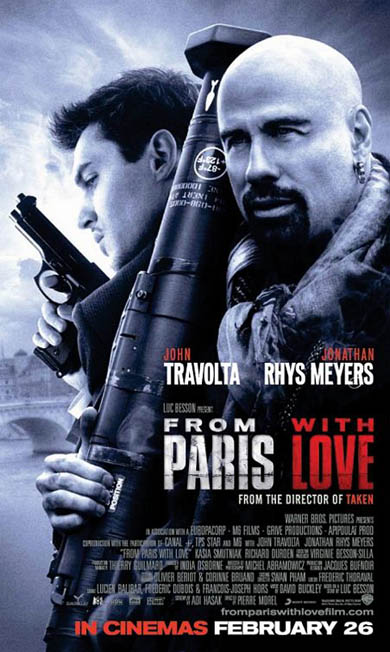Critics Consensus: From Paris With Love Is Not Bon