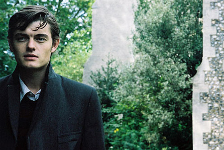 Sam Riley looks pensive in Franklyn