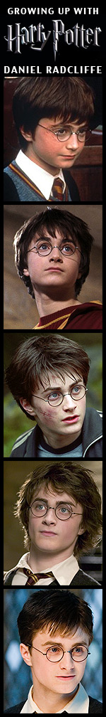 Growing Up with Harry Potter - Daniel Radcliffe