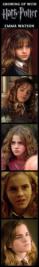 Growing Up with Harry Potter - Emma Watson
