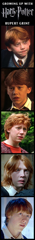 Growing Up with Harry Potter - Rupert Grint