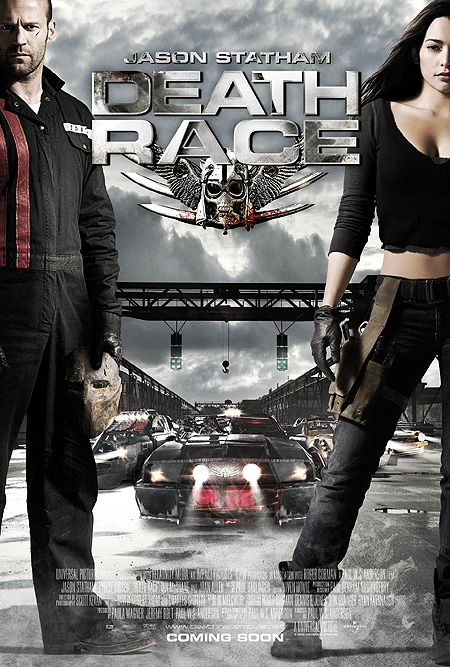 Death Race Poster - Rotten Tomatoes Exclusive
