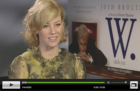 Josh Brolin and Elizabeth Banks Talk W. - Click to Watch!