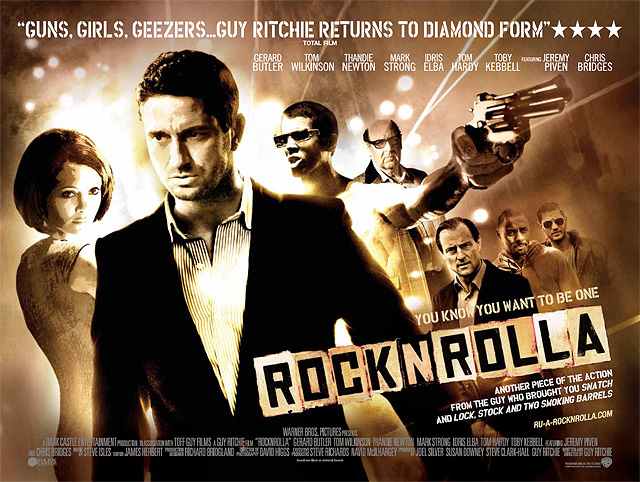 Rotten Tomatoes World Exclusive RocknRolla Poster