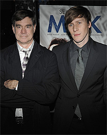 Gus van Sant and Dustin Lance Black - J. McCarthy/WireImage.com