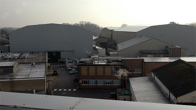 Inside Pinewood/Shepperton