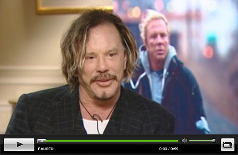 Mickey Rourke and Darren Aronofsky Talk The Wrestler - Click to Watch!