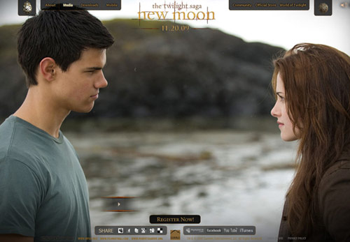 kristen stewart hair color in new moon. Click for more New Moon images